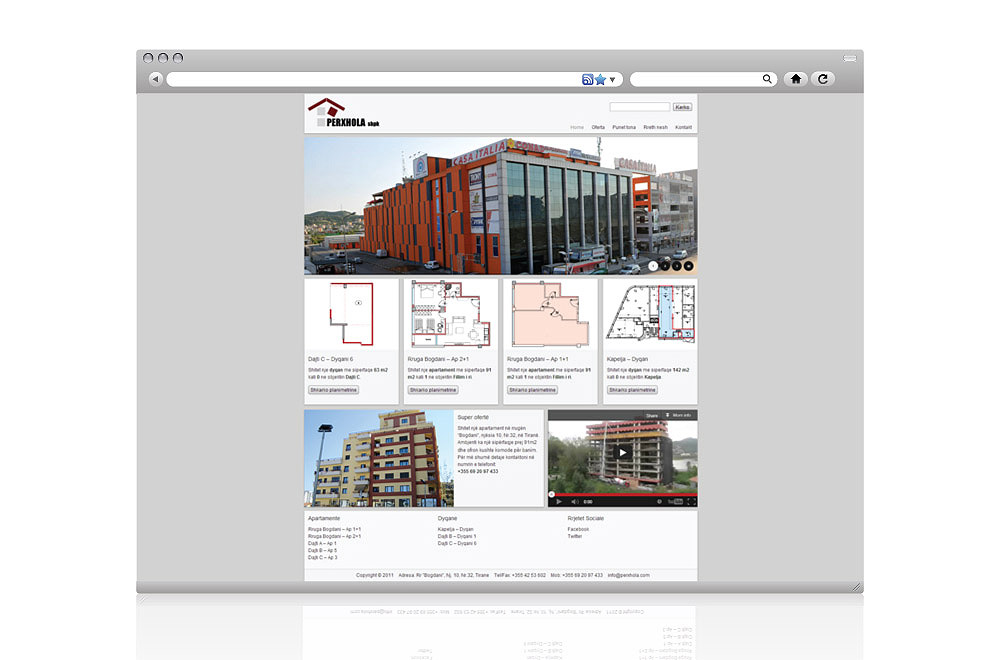 Website for Perxhola